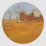 prairie farm traditional country art stickers