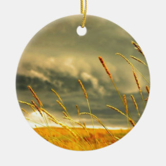 Prairie Grass Christmas Ornaments