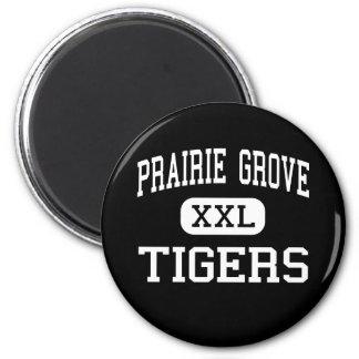 Prairie Grove - Tigers - Junior - Prairie Grove Fridge Magnets