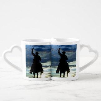 Prairie riding rope cowboy lovers mug