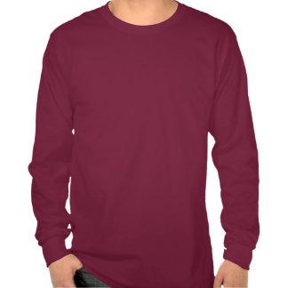Prairie Roots White Center Logo Long SleeveT-Shirt T Shirt
