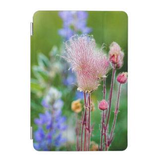 Prairie Smoke Wildflowers In Aspen Grove 2 iPad Mini Cover