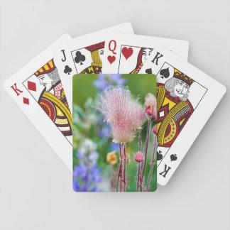 Prairie Smoke Wildflowers In Aspen Grove 2 Playing Cards