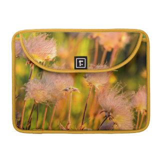 Prairie Smoke Wildflowers In Aspen Grove Sleeve For MacBook Pro