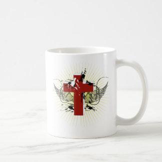 praise basic white mug