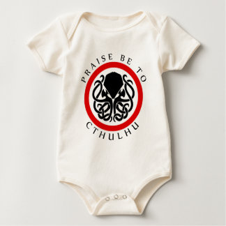 Praise Be To Cthulhu Baby Bodysuit