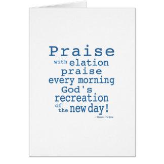 Praise! Card