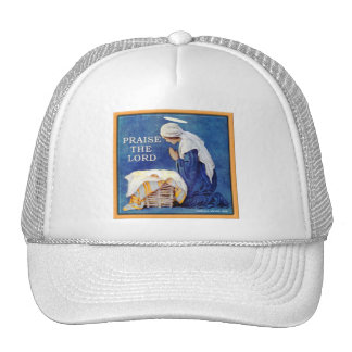 PRAISE THE LORD TRUCKER HATS