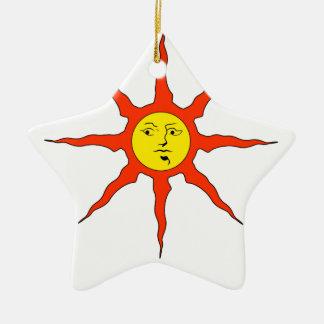 Praise the Sun logo Christmas Ornament