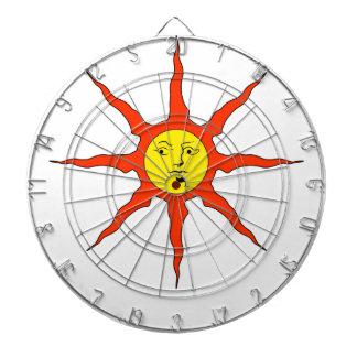 Praise the Sun logo Dartboard