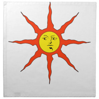 Praise the Sun logo Napkin