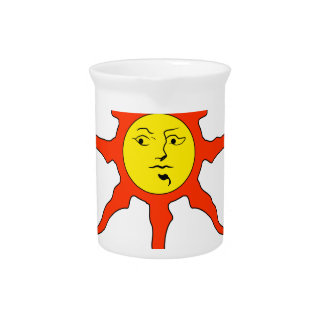 Praise the Sun logo Pitcher