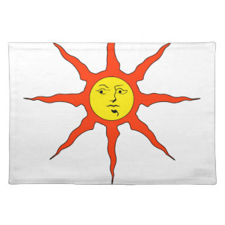 Praise the Sun logo Placemat