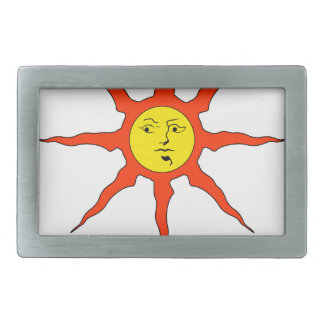 Praise the Sun logo Rectangular Belt Buckles