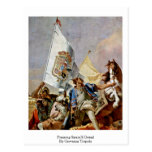 Praising Spain'S Detail By Giovanni Tiepolo Postcards