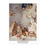 Praising Spain'S Detail By Giovanni Tiepolo Post Card