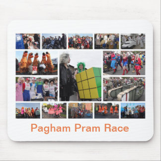 Pram Race Mouse Mat