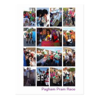 Pram Race Postcard