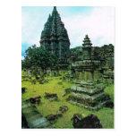 Prambanan temple complex, Java, Indonesia Postcard