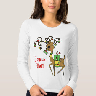 Prancer / Joyeux Noël T Shirts