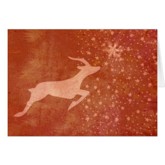 Prancer the Star Greeting Card