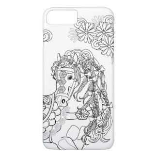 Prancing Daisy Horse Apple iPhone 7 Plus iPhone 8 Plus/7 Plus Case