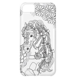 Prancing Daisy Horse iPhone 5C iPhone 5C Case