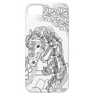 Prancing Daisy Horse iPhone SE + iPhone 5/5s iPhone 5 Case