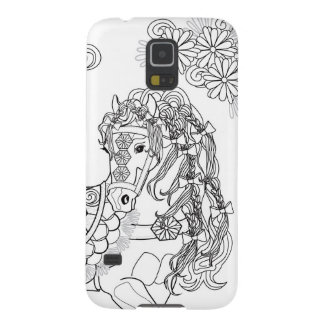 Prancing Daisy Horse Samsung S5 Case