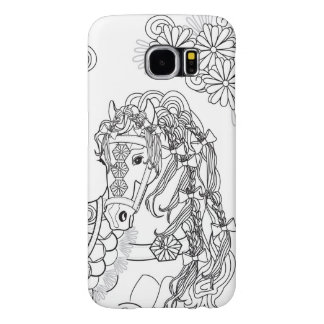 Prancing Daisy Horse Samsung S6 Samsung Galaxy S6 Cases