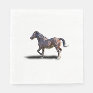 PRANCING HORSE DISPOSABLE SERVIETTES
