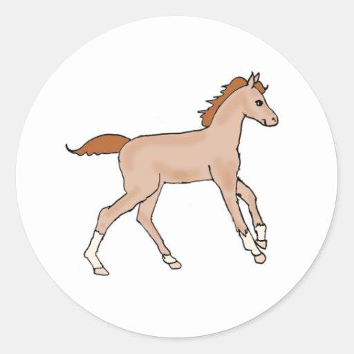 Prancing Pony Stickers