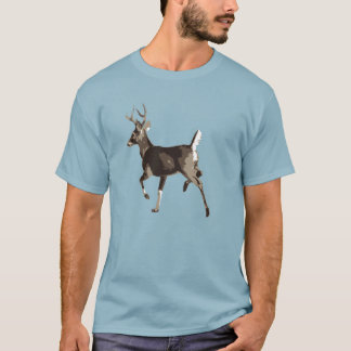 Prancing Whitetail Deer T-Shirt