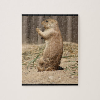 Prarie Dog Eating Grass Puzzle