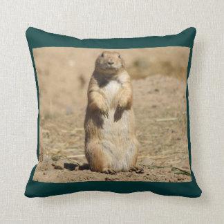 Prarie Dog Throw Cushion