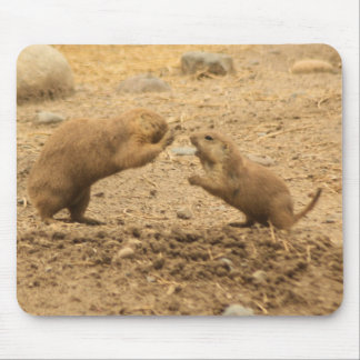Prarie Dogs Give Me Some Skin Mousepads