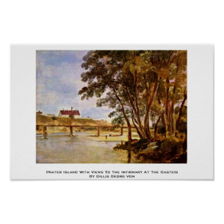 Prater Island With Views To The Infirmary Poster