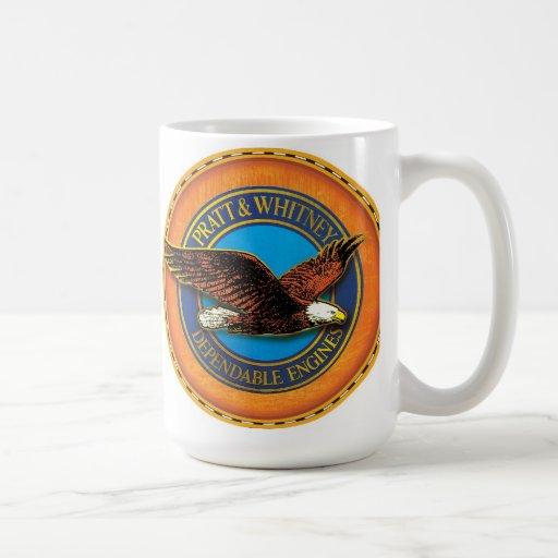 Pratt and whitney engines sign mug