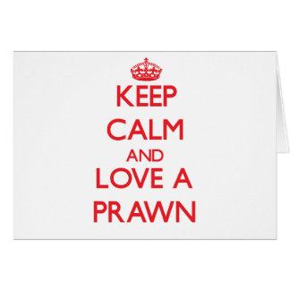 Prawn Card