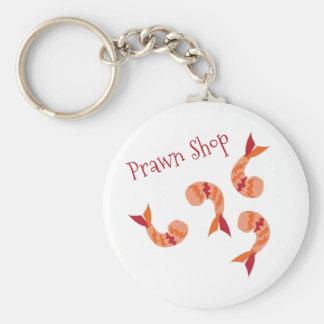 Prawn Shop Keychains