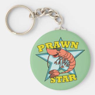 Prawn Star Keychains