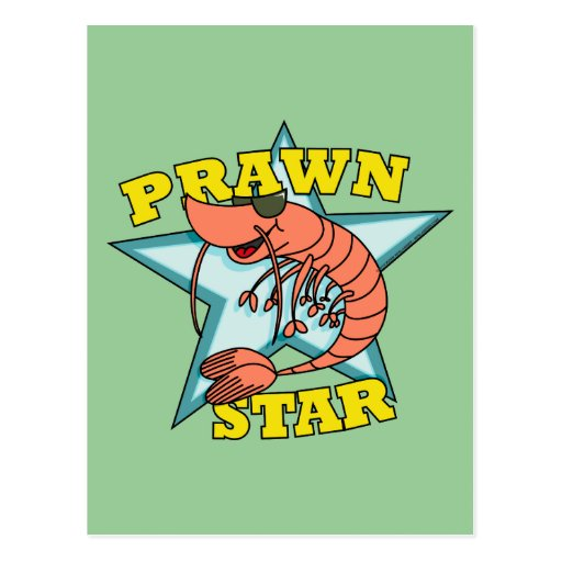 Prawn Star Post Card