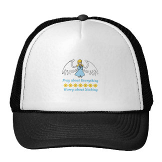 PRAY ABOUT EVERYTHING TRUCKER HAT