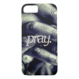 pray. all over print iPhone 8/7 case