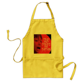 Pray and donate for Japan Standard Apron