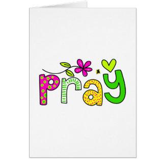 Pray Cards