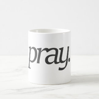pray. coffee mug