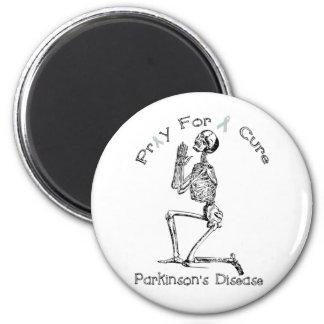 Pray For A Cure-Parkinson's Disease 6 Cm Round Magnet