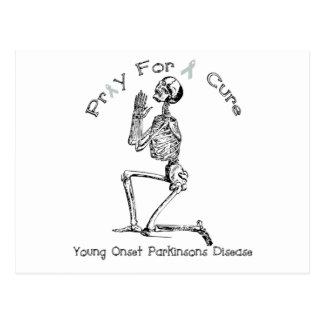 Pray For A Cure-Parkinson's Disease Postcard