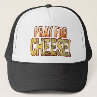 Pray For Blue Cheese Trucker Hat